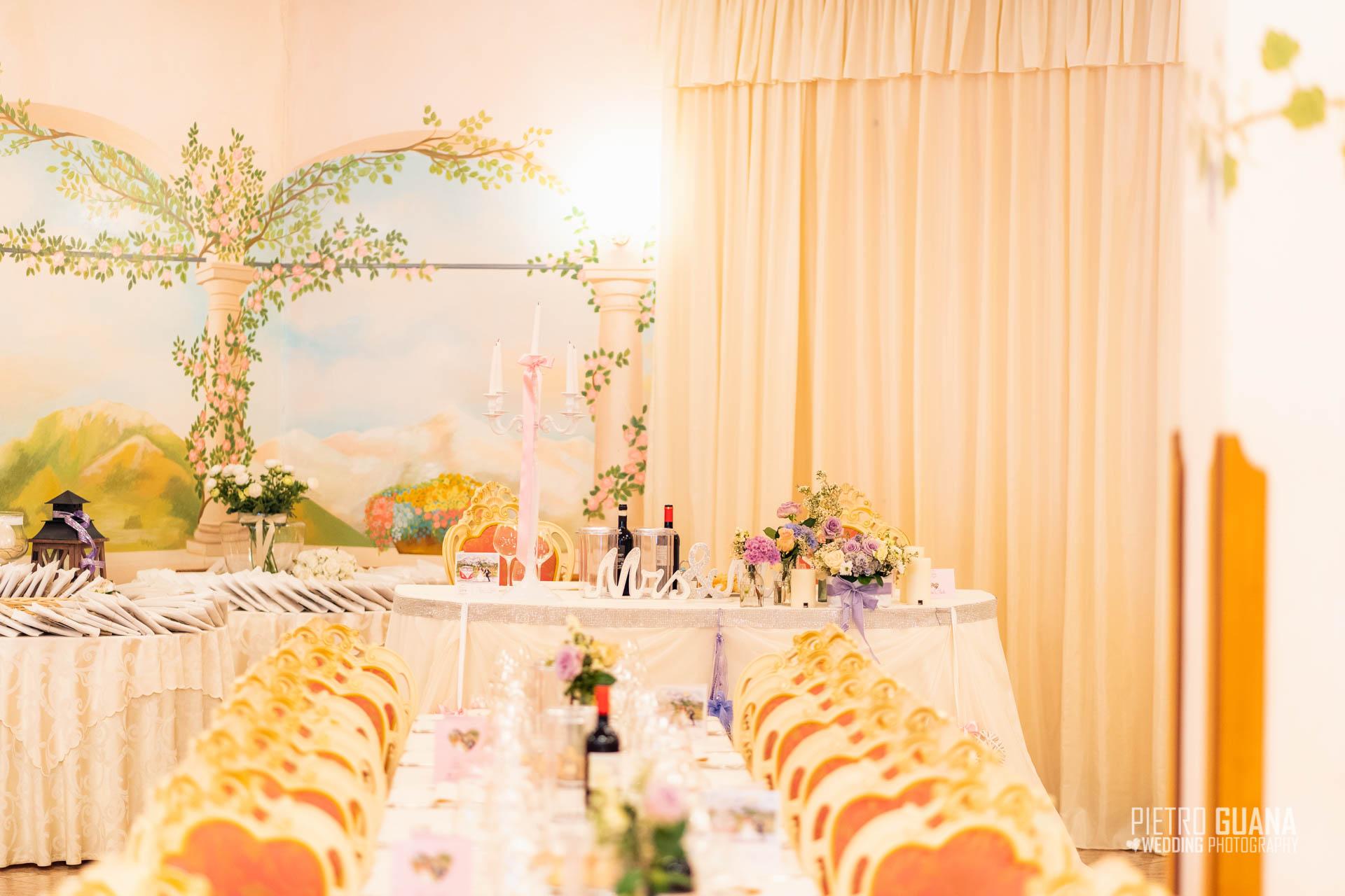 Sala Matrimonio Ristorante da Giorgio Ardesio Chiara e Claudio Pietro Guana Fotografo