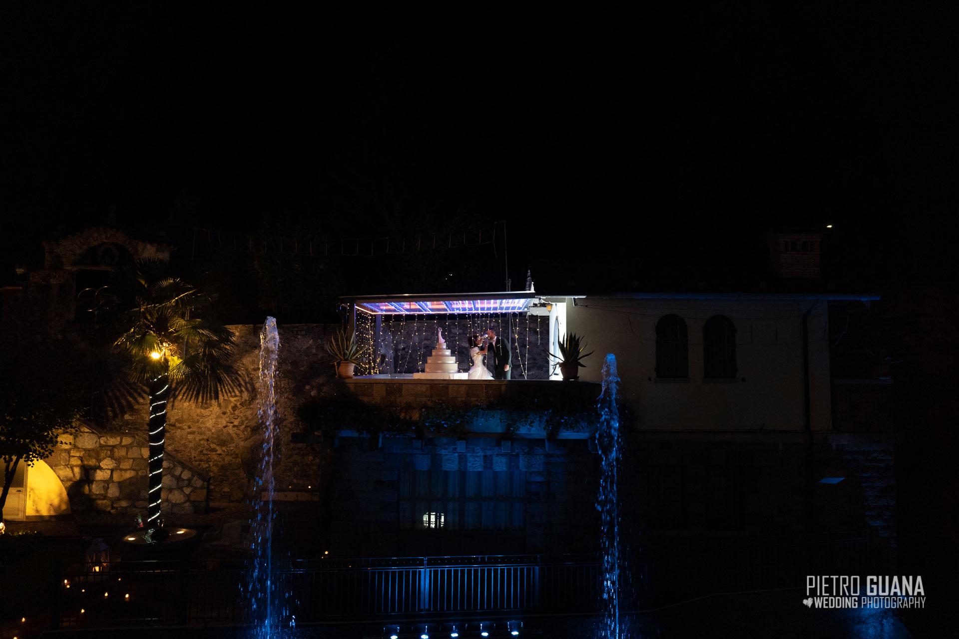 Matrimonio Ristorante da Giorgio Ardesio Taglio Torta Pietro Guana Fotografo